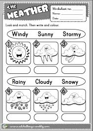 1st grade weather worksheets free worksheets library download