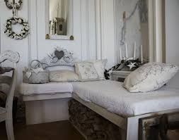 shabby chic bedroom ideas crystal chandelier add deluxe tan double
