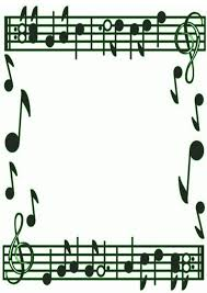 music note border clipart free images 4 clipartix