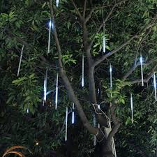 waterproof led falling lights with 30cm 8tube 136leds meteor