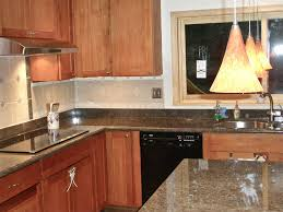 New Tiles Design For Kitchen Pictures Of Brown Cabinet With With White Floor Tiles Rustic Wood