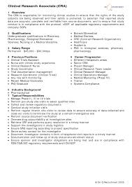 Clinical Trial Manager Resume Cover Letter Research Assistant Sample Resume Research Assistant