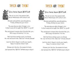 Halloween Poems Short Scrap N Teach You U0027ve Been Booed