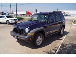 jeep liberty fender flare pre owned 2007 jeep liberty sport suv in houston 7w561277