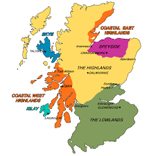 Dundee Scotland Map Whisky Philodex