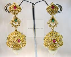 gold jhumka earrings design gold earrings gold rings 22kt gold jhumka gold jhumka with