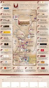 map of oregon wineries umpqua valley winegrowers wine tour map