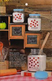 Vintage Kitchen Canisters Repaint Your Old Kitchen Canisters