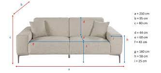 dimensions canapé 3 places ᐅ test et avis canapé de maisons du monde