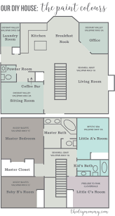 Little House Floor Plans 2016 Home Tour Our Diy House The Diy Mommy
