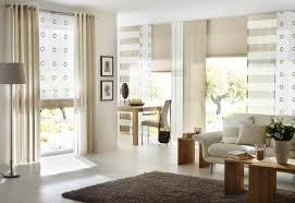 schiebegardinen kurz wohnzimmer schiebevorhang bilder ideen couchstyle