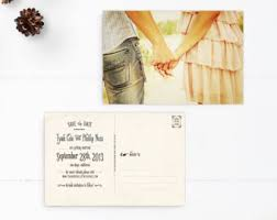 kif wedding band unique wedding save the dates save the date postcard vintage