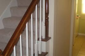 How To Refinish A Wood Banister Banister Refinish And Hallway Paint Interior Painter And