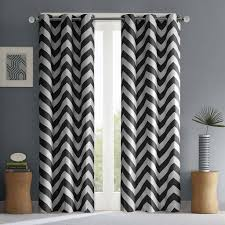 Chezmoi Collection Curtains by Amazon Com Libra Chevron Window Curtain Pair Teal 63