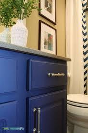 blue bathroom vanity cabinet
