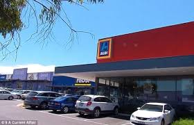 siege social aldi melbourne sent out of aldi for wearing daily mail