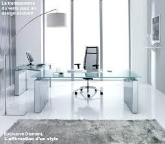 bureau metal verre bureau design verre metal la photo en situation bureau directorial