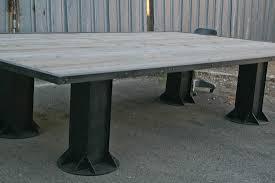 Handmade Industrial Furniture - handmade industrial furniture large table new style industrial