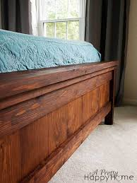 Bed Frames Farmhouse Bed Pottery by Diy Pottery Barn Farmhouse Bed A Pretty Happy Home