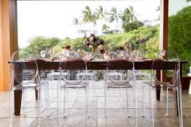 the cliff house dining room cliff house opihi love wedding u0026 event design maui hawaii