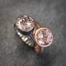 morganite gold engagement ring morganite gold engagement ring solitaire morganite 14k