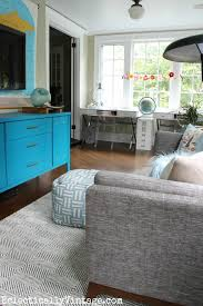 home office with tv shared homework space ideas
