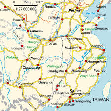 Chongqing China Map by Map Of China National Parks China Maps And Directions At Map