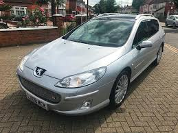 peugeot automatic diesel cars for sale 2008 08 peugeot 407 sw 2 7 hdi v6 gt automatic 5 dr fully loaded