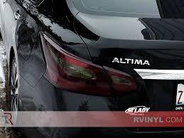 nissan altima blacked out rtint blackout smoke tint car wrap film