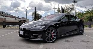 tesla outside tesla model s p100d review