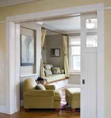 Painting Bedroom Doors by Double Curtain Rod Brackets In Living Room Traditional With
