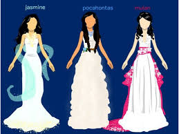 disney princess wedding dresses ozfan create art 2002380 top