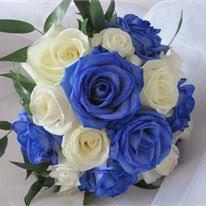 Wedding Flowers Blue Wedding Inspiration And Ideas Hitched Co Uk