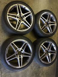 mercedes amg wheels 18 mercedes c63 amg 18 factory alloy wheels rims and tires