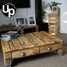 Best Wood For Making A Coffee Table the 25 best wood pallet coffee table ideas on pinterest