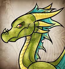 how to draw an easy cartoon dragon step by step by darkonator