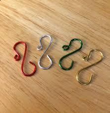 handmade mini ornament hooks