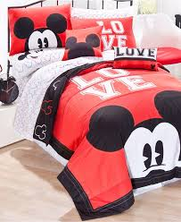 pleasant home children bedroom with mickey mouse design