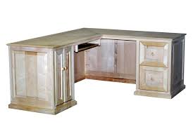 Small L Shaped Desk Home Office Handmade Maple L Shaped Desk Durham Bookcases Custommade For The
