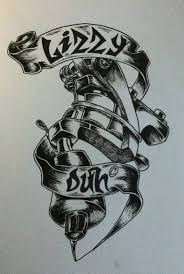 tattoo my logo my tattoo logo design by lizzyduhh on deviantart