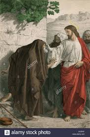 Blind Christian Christ Healing The Sick Sight To The Blind The Christian