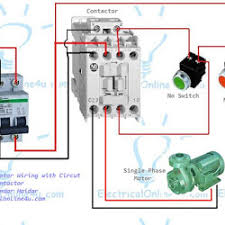 the complete guide of single phase motor wiring with circuit