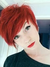 Kurzhaarfrisuren Rot by Kurzhaarfrisuren In Rot Für Temperamentvolle Frauen Frisuren
