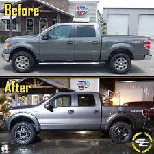 before u0026 after 2012 ford f150 with 20x9 18 rockstar ii wheels