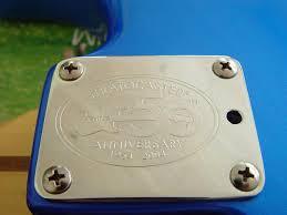 50th anniversary plate fender 50th anniversary american stratocaster foldi guitar