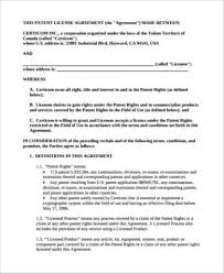 patent assignment form patent application template u2013 12 free