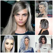 latest grey hair colors for 2017 hairstyles 2018 new haircuts