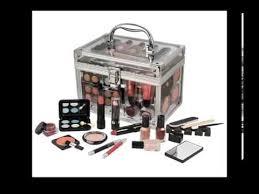 Vanity Box 60 Piece Urban Beauty Travel Cosmetic Vanity Case Make Up Gift Set
