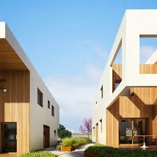 residential architecture design cubic housing lot office for architecture