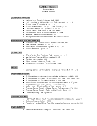 Resume For Lifeguard National Honor Society On Resume Free Resume Example And Writing